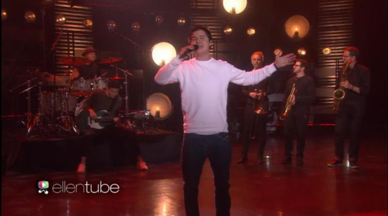 Lukas Graham Performs 7 Years on Ellen